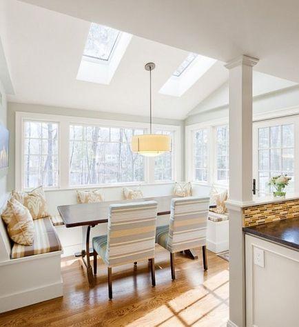 white-kitchen-design-with-fancy-breakfast-nook