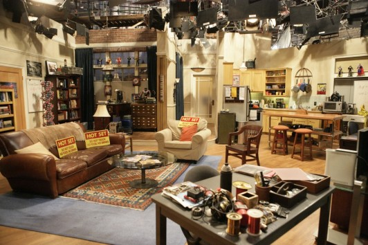 appartement de sheldon et leonard
