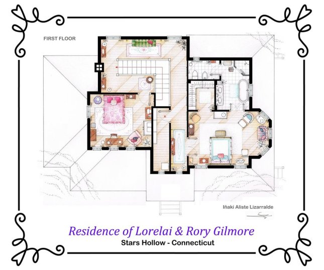 house_of_lorelai_and_rory_gilmore___first_floor_by_ablog
