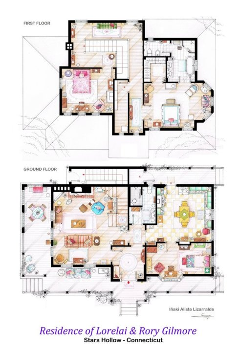 house_of_lorelai_and_rory_gilmore___floorplans_by_ablog