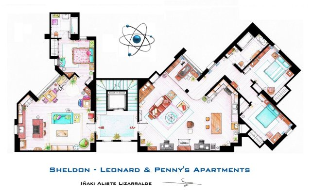 sheldon__leonard_and_penny_apartment_from_tbbt_by_ablog