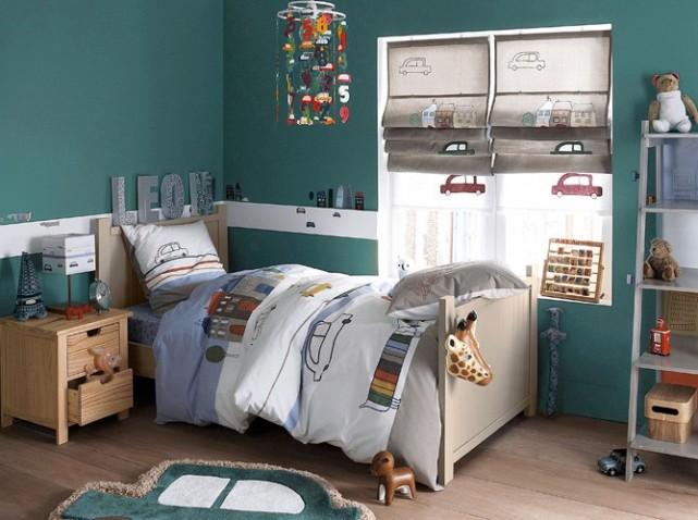 Chambre Enfant Bleu Et Vert. Awesome Beau Decoration Chambre A ...