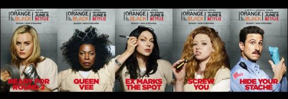 Campagne pour le lancement de la saison 2 de Orange is the new black