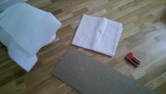 materiel DIY BANQUETTE