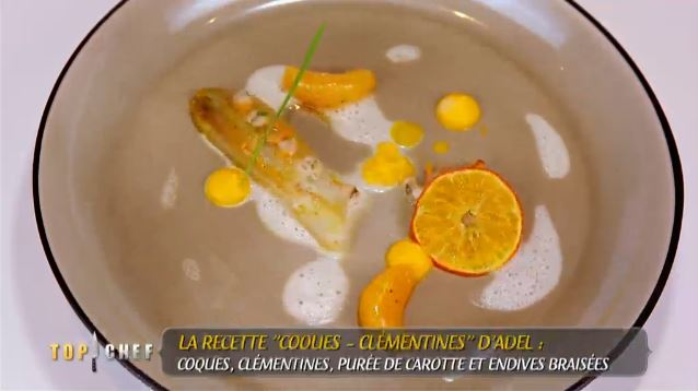 coque clementine adel top chef