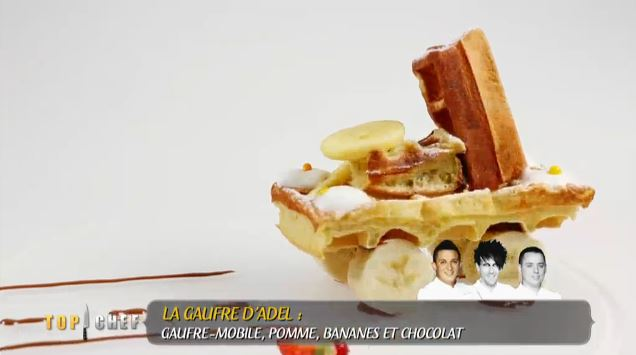 Gaufre mobile top chef adel