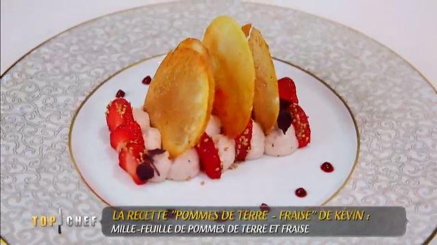 pommes de terre fraise kevin top chef